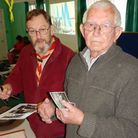 Former Scout John Haward with Assistant Group Scout Leader Gerry Rhodes