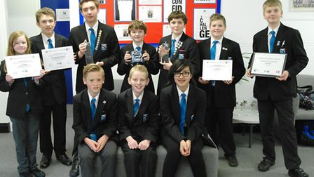 The Beccles Free School team were crowned– national RoboCup champions.