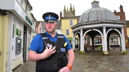 Dave Faulkner is the new PCSO for Bungay. PHOTO: Nick Butcher