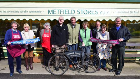 Metfield Stores is run by volunteers from the community and they are set to celebrate the shops 10th