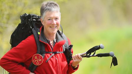 Mary Kirk is walking 2000km from Canterbury to Rome.She is doing it as a spiritual pilgrimage raisin