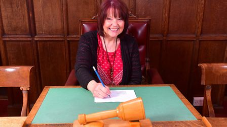 Jula Janney is retiring after 30 years as clerk for Beccles Town Council.PHOTO: Nick Butcher