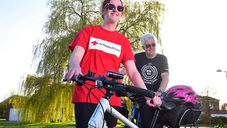Peter Hobbs and his daughter Sharon are set to cycle from London to Paris to raise funds for the Bri