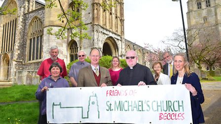 St Michael's Church has launched a huge fundraising campaign - and hopes the community will rally ro