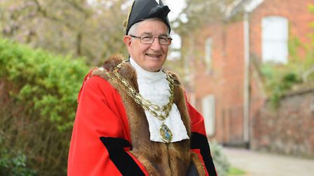 Graham Catchpole who is the new Beccles Mayor. Picture: James Bass