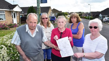 Residents of Beccles have started a petition against the cutting of a vital bus service in the town.