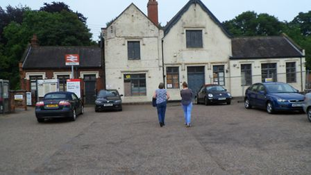 The Beccles station building as it looked in 2013. Picture: Submitted.