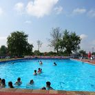 Beccles Lido opened for the season on Saturday with hundreds of visitors enjoying the pool.