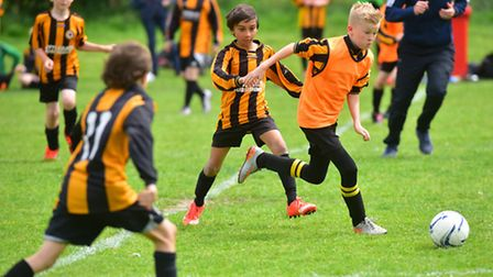Beccles Town Youth football club annual presentation day along with games.PHOTO: Nick Butcher