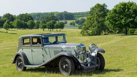 One of the vintage cars to appear at Heveningham Hall's inaugural Concours d'Elegance