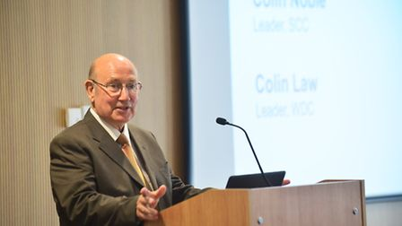Leader of Waveney District Council Colin Law.