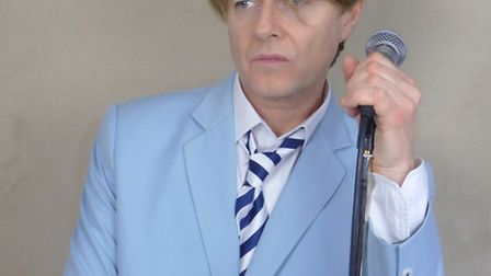Paul Anthony will perform an amazing Bowie tribute act on Friday, September 30 at Beccles Public Hal