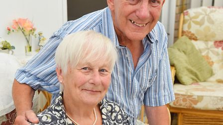 Rita and Brian Harmer have celebrated their diamond wedding anniversary. Picture: James Bass