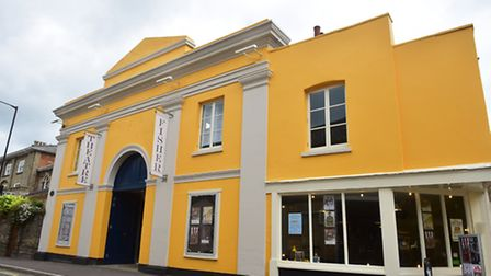 The Fisher Theatre in Bungay is celebrating its 10th anniversary. Picture: Nick Butcher.