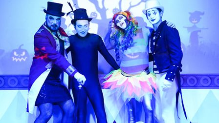 Glitterball is staging its annual Halloween Ball in Beccles. Picture: Andrew Florides.