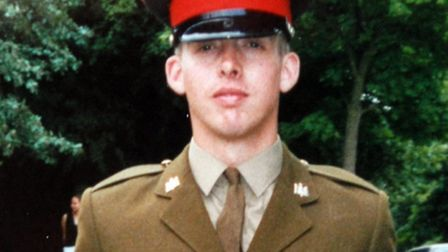 Lance Corporal George Davey.Picture: MoD