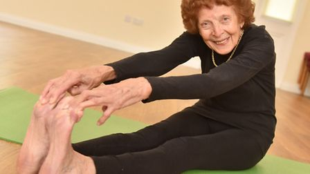Having just celebrated her 90th birthday, Joy Tupling from Beccles puts her good health down to dail