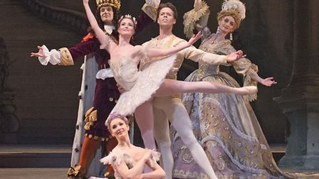 The Royal Ballet production of The Sleeping Beauty.