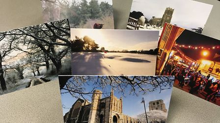 The Beccles and Bungay Journal Christmas cards.