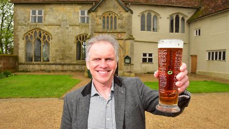 Steve Magnall, CEO of St Peters Brewery. Picture: Nick Butcher.