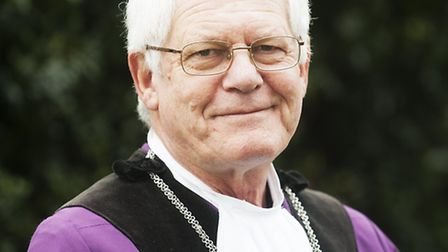 Terry Reeve, during his time as Town Reeve of Bungay.