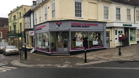 Norwich and Peterborough Building Society branch in Bungay