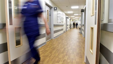 The Minsmere ward at Beccles hospital has been re-opened after a £1.65m refurbishment.PHOTO: Nick Bu