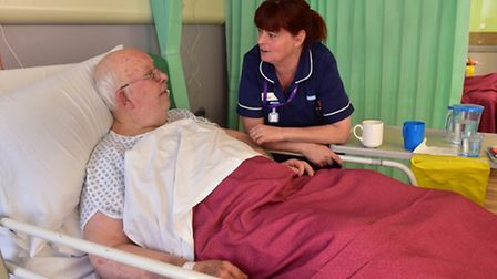 The Minsmere ward at Beccles hospital has been re-opened after a £1.65m refurbishment.Sister, Gilly