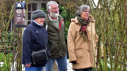 The garden of Brenda and John Foster was opened at the weekend for people to view the couples collec
