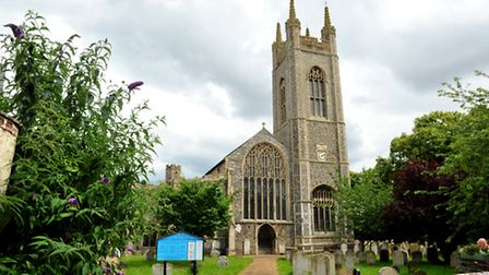 St Mary's Church in Bungay. PHOTO: Nick Butcher