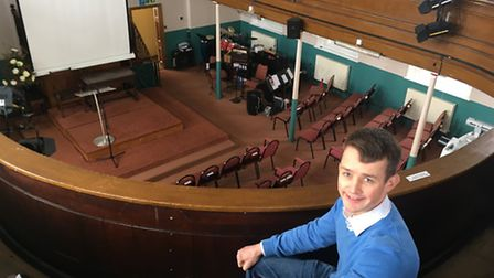 Tom Fenning who is to be inducted as the new pastor at Beccles Baptist Church