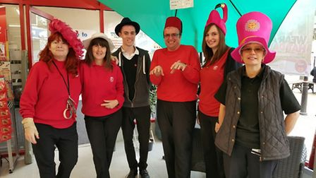 QD Stores Group's Wear a Hat Day event in 2016