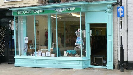 The East Coast Hospice charity shop in Bungay.