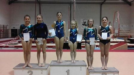 Brooke, Tiani, Iona, Victoria, Grace and Kaitlyn. Picture: Louise Luckett