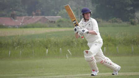 Hales & Loddon's Jack Coo scored a maiden century - but ended up on the losing side. Picture: Milton