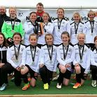 Beccles Town FC's under 12s girls' team. Picture: Laura Scott.