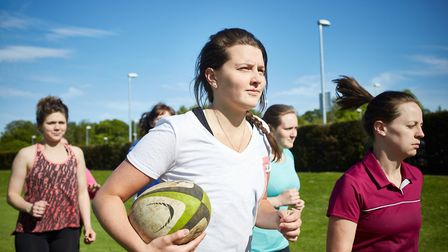 The Rugby Inner Warrior programme comes to Beccles this weekend. Picture: RFU