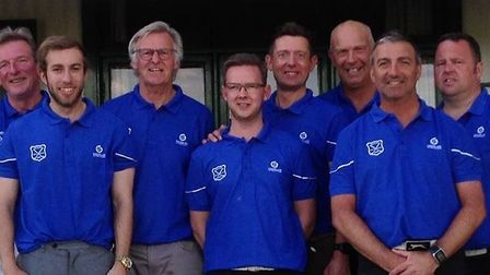 Beccles Golf Club's Tolly Cobbold Cup team. Picture: Beccles GC