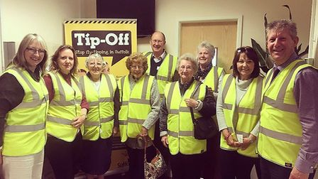 Beccles Bombles and WI members on a trip to the Waveney Norse HQ. Picture courtesy of Caroline Toppi