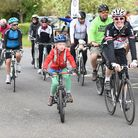 Cyclists setting off from Sir John Leman High School at last year's event. Picture: James Bass