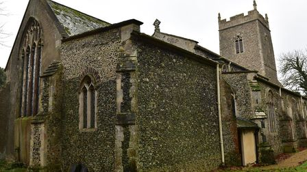 Cratfield Church, where the lead was stolen from. Picture: Sarah Lucy Brown.
