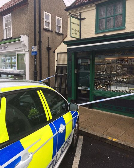 Copperfield jewellers in Beccles, where the robbery was carried out. Picture: Archant.
