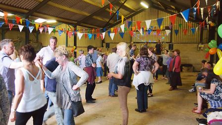 A previous ceilidh at Clinks Care Farm in Toft Monks. Picture: Courtesy of Clinks Care Farm.