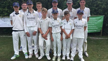 Topcroft Sunday Colts XI had a tie against Rocklands. Picture: Jim Prewer-Anderson