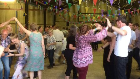 The Ceilidh at Clinks Care Farm. Picture: Courtesy of Marion Watts.