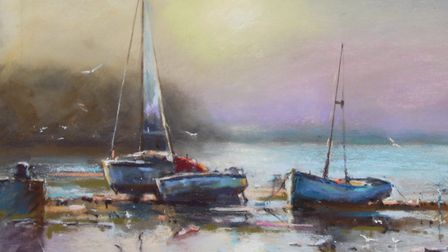 'First Light', one of the paintings that will be available view in Norwich. Picture: John Patchett