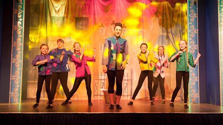Waveney youngsters are getting the chance to perform at this year's Beccles Christmas pantomime. Pic