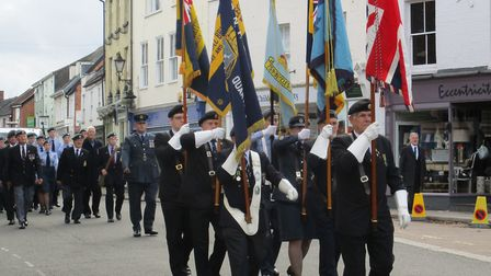 The annual Battle of Britain parade took place in Beccles on Sunday, September 17. Photo: Brian Vous