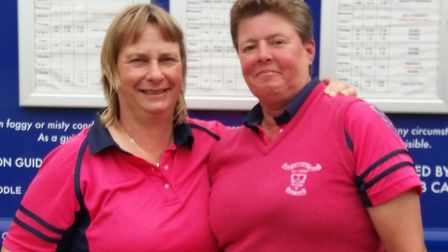 Bungay & Waveney Valley pair Lils James and Sam Cooper. Picture: Club