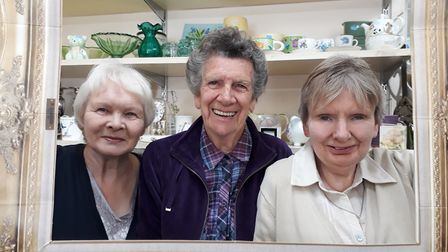 Volunteers from an EACH charity shop. Picture: EACH